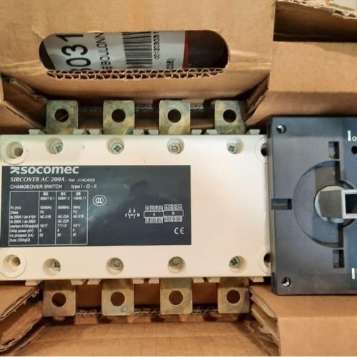 Foto Produk Promo COS / Change Over Switch / Ohm saklar Socomec Sircover 200A 4P dari Buana Sakti Elektrik