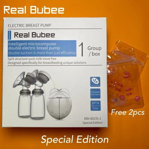 Foto Produk Real Bubee Pompa ASI Elektrik Ganda /Double Electric Breast Pump R702 - Garansi 3 Hari dari amc_shop