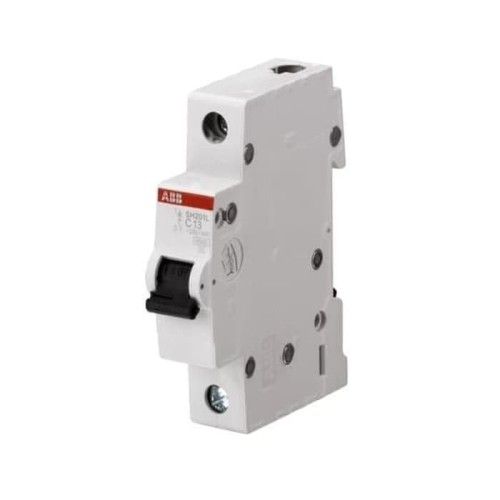 Foto Produk ABB MCB 1Pole 4.5kA 25A SH 201 L-C25 2CDS241001R0254 dari ABB Official Shop