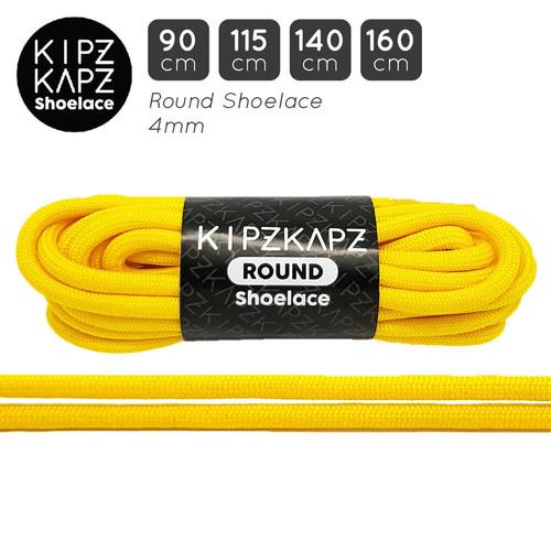 Foto Produk KipzKapz RS57 Sunlight Yellow 90cm 115cm 140cm 160cm Tali Sepatu Bulat - 90cm dari KipzKapz