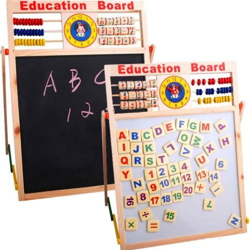 Foto Produk Papan Tulis Drawing Board Sempoa Alphabet Mainan Edukasi Anak dari Mmtoys Indonesia