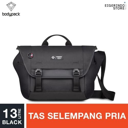 Foto Produk Bodypack Prodigers Ingenious Basic Shoulder Bag - Black 13L dari Eigerindo Store