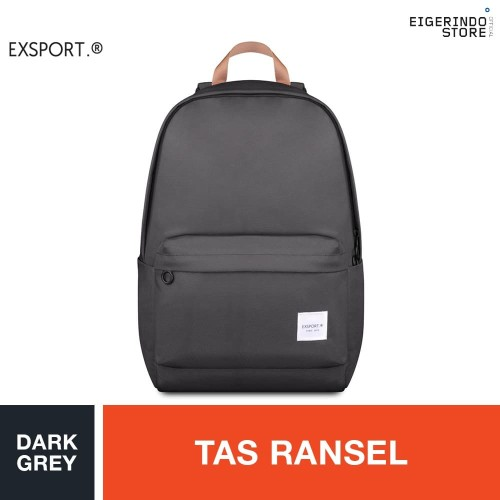 Foto Produk Exsport Willow Vert Backpack - Dark Grey dari Eigerindo Store