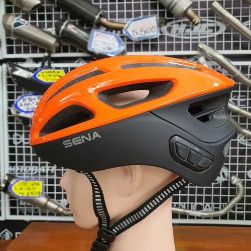 Foto Produk Helm Sepeda Sena R1 Orange - M dari duniamotorcom-DM