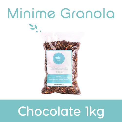 Foto Produk Granola Chocolate 1kg dari Granola by Minime