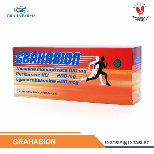 Foto Produk GRAHABION - Vitamin neurotropik dari Graha Farma Official