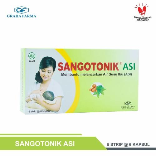 Foto Produk SANGOTONIK ASI - Suplemen makanan untuk ibu menyusui dari Graha Farma Official