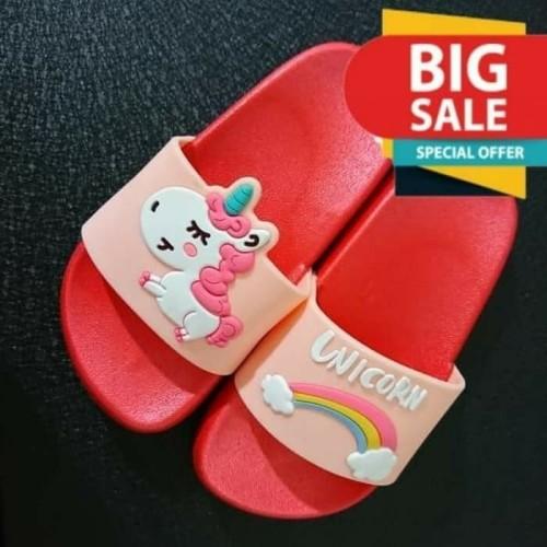 Foto Produk Sandal Selop Anak / Sandal Anak Perempuan Karakter Unicorn UNC04 - 33 dari Mr Fath