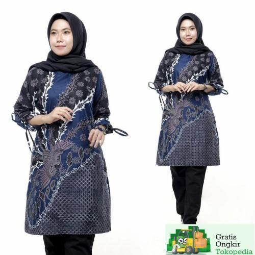 Foto Produk Tunik Batik Wanita Terbaru 2020 - M dari Meyda_Batik