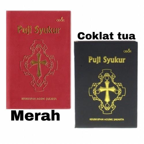 Foto Produk Puji Syukur Keuskupan Agung Jakarta / Kecil - Buku Puji SyukurNasional - Cokelat dari Yeraya Toko Rohani
