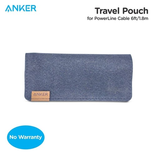 Foto Produk Pouch Kabel Anker For PowerLine 6Ft Black - 51006000047 dari Anker Indonesia