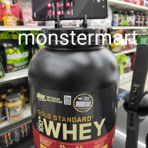 Foto Produk whey gold standard on wgs 5 lbs optimum nutrition bpom dari Monstermart Store