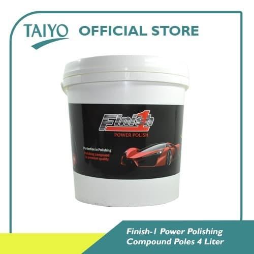 Foto Produk Finish-1 Power Polish / Compound Poles 4 Liter dari Taiyo Perkakas Official