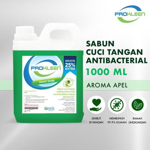 Foto Produk Sabun Cuci Tangan HAND SOAP PROKLEEN 800mL (BONUS ISI 25%) KONSENTRAT - Apple dari United Cleaning Official