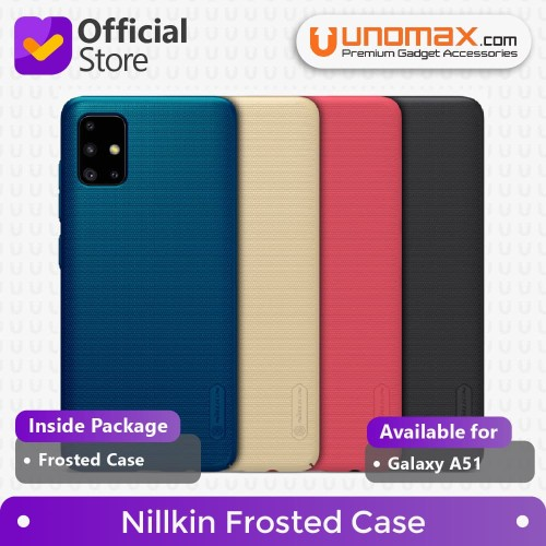 Foto Produk Hard Case Samsung Galaxy A51 Nillkin Frosted - Peacock Blue dari unomax