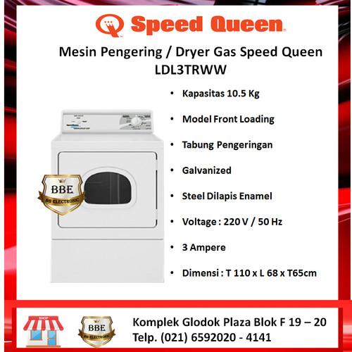 Foto Produk Mesin Pengering / Dryer Gas SPEED QUEEN LDL3TRWW dari BB ELECTRONIC