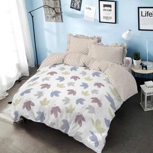 Foto Produk Bed Cover Hazel Kintakun Dluxe Microfiber Pink (7in1) 39 cm Double dari Kintakun Sprei Bedcover