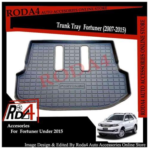Foto Produk Trunk Tray Fortuner- Karpet Bagasi Grand - New Fortuner 2007-2015 dari Roda4