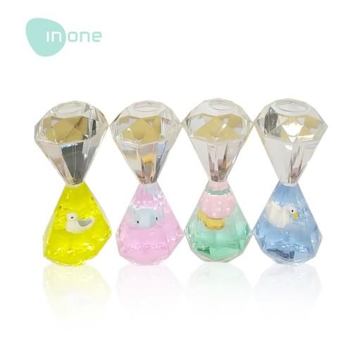 Foto Produk Inone Pajangan Dekorasi Jam Pasir Millenial Cute Dolphine Oil Drop Orn dari Inone Official Shop