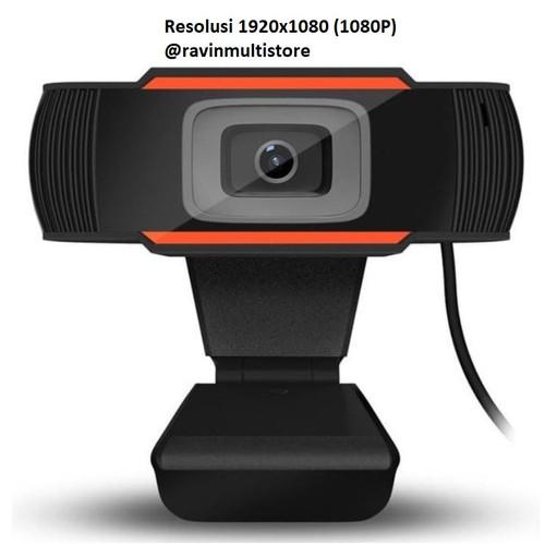 Foto Produk Promo Murah Rotatable HD Webcam PC Laptop Web Cam Mini 12MP. 1280X720 - 1080P dari ravinmultistore