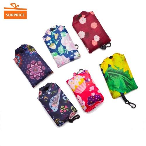 Foto Produk Tas Lipat Belanja Motif / Tas Tote Bag Belanja / Tote Bag Serbaguna dari SurpriceStore