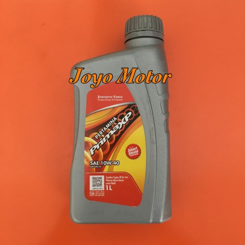 Foto Produk Oli Mesin Pertamina Prima XP SAE 10W-40 - 1 Liter dari Joyo Motor Surabaya