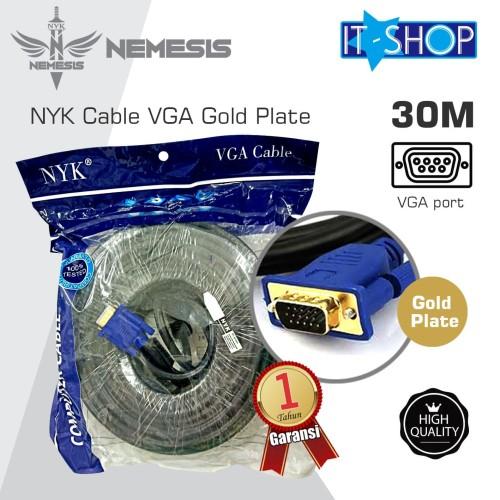 Foto Produk NYK Cable VGA Gold Plate 30M dari IT-SHOP-ONLINE