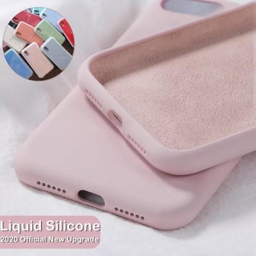 Foto Produk Case Iphone 7 8 Plus X XR XS Max SE 20 Premium Silicone Fullcover BNIB - IPX XS, Black dari NTzen Online