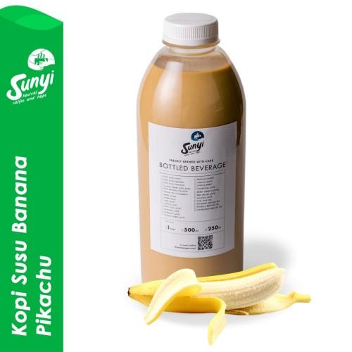 Foto Produk Kopi Banana Pikachu - 1 Liter dari Sunyi House of Coffee and Hope
