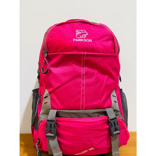 Foto Produk Parkson Tas Pria Ransel 8003 Tas Murah 4 warna Waterproof murah - Merah Muda dari Parkson Official