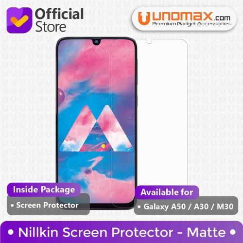 Foto Produk Nillkin Screen Protector Samsung Galaxy A50 / A30 / M30 - Matte dari unomax