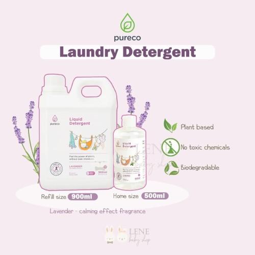 Foto Produk Pureco Liquid Detergent Lavender Refill SIze 900ml dari LENE Baby Shop