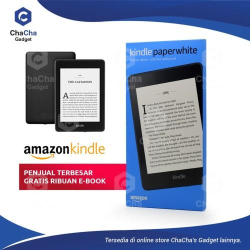 Foto Produk Amazon Kindle Paperwhite eBook Reader Waterproof 8GB Ads Black Special dari ChaCha's Gadget