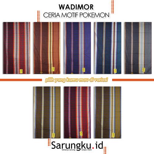 Foto Produk SARUNG WADIMOR CERIA MOTIF POKEMON - Cover dari SarungkuID