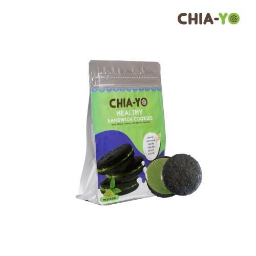 Foto Produk Sandwich Cookies Matcha dari Chia-Yo