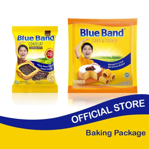 Foto Produk Blue Band Cake and Cookie 200gr + Choco Sprinkles 90gr dari Blue Band Official Store