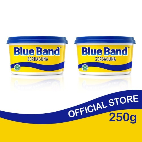 Foto Produk Blue Band Serbaguna Tub 250gr isi 2 dari Blue Band Official Store