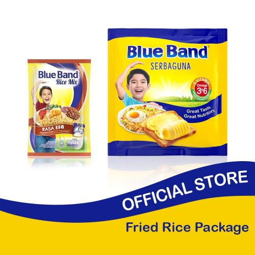 Foto Produk Blue Band Serbaguna 200 gr + Rice Mix Barbeque 45gr dari Blue Band Official Store