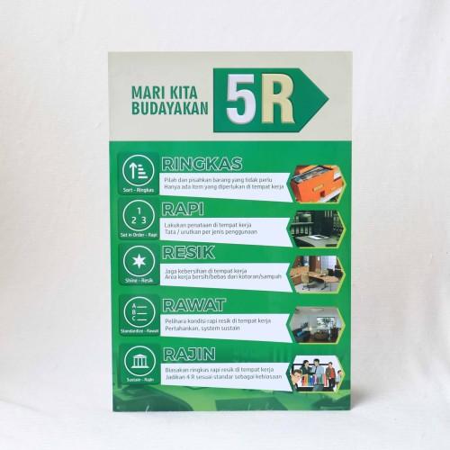 Foto Produk Poster Budayakan 5R dari Syafana