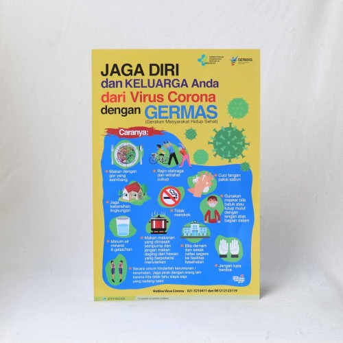 Foto Produk Poster Waspada Corona dari Syafana