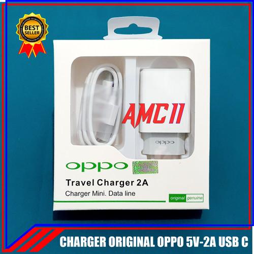 Foto Produk Charger Oppo A5 A9 2020 ORIGINAL 100% USB Type C 2A dari Arto moro cell Part II
