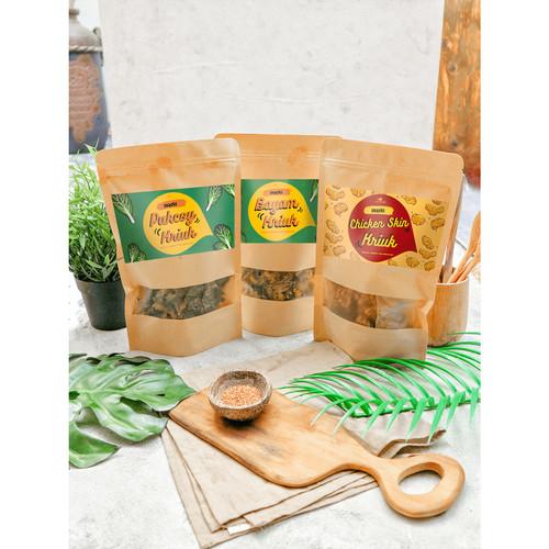 Foto Produk Eatever - BUNDLE Paket Cemilan Krispy / Snack Halal dari Eatever