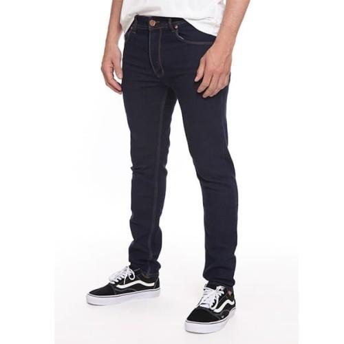Foto Produk 2Nd RED Jeans Pria Slim Fit Best Seller Bahan Melar Blue Black 133205 - Hitam, 29 dari 2nd RED Jeans
