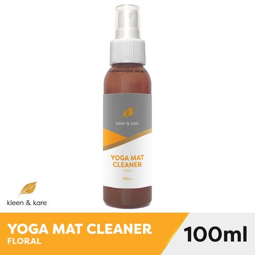 Foto Produk Natural Yoga Matras Spray, Cleaner (100 ml) Pembersih Mat Yoga - Floral dari Kleen and Kare