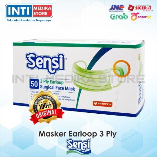 Foto Produk SENSI - Masker Earloop Sensi 3 Ply (Plus Edition) | Masker Sensi dari INTI MEDIKA STORE