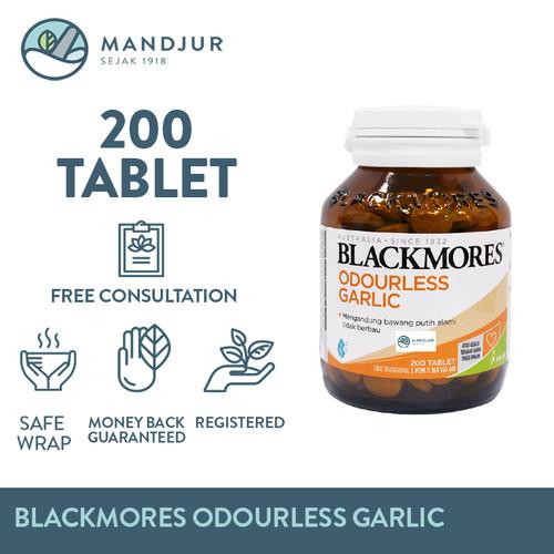 Foto Produk Blackmores Odourless Garlic - Suplemen Pengontrol Tekanan Darah dari mandjur