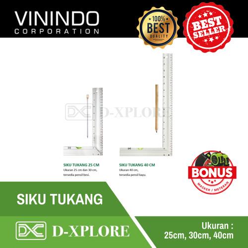 Foto Produk SIKU TUKANG D-XPLORE - 25 CM dari VININDO OFFICIAL STORE