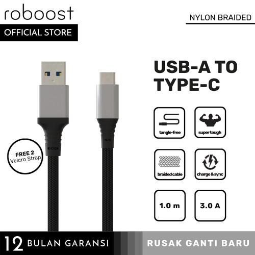 Foto Produk roboost Kabel Data Universal Super Quick Fast Charging USB Type C 3.0 dari roboost Official Store