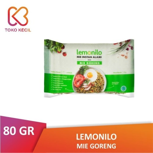 Foto Produk [PACK] Lemonilo Mie Goreng 77 GR | Mi Instan Sehat Alami Organik dari Toko Kecil