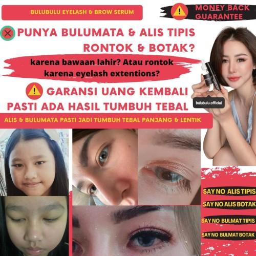 Foto Produk New!Pasti tumbuh Tebal Bulumata & Alis dalam 2 minggu Eyelash Serum dari Bulubulu official